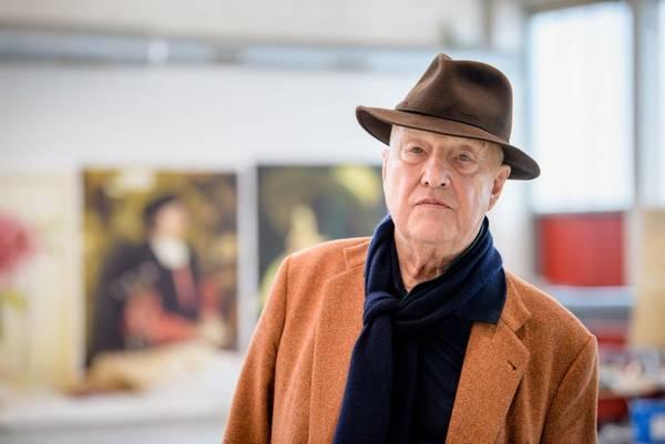 Georg Baselitz Malt Wagner