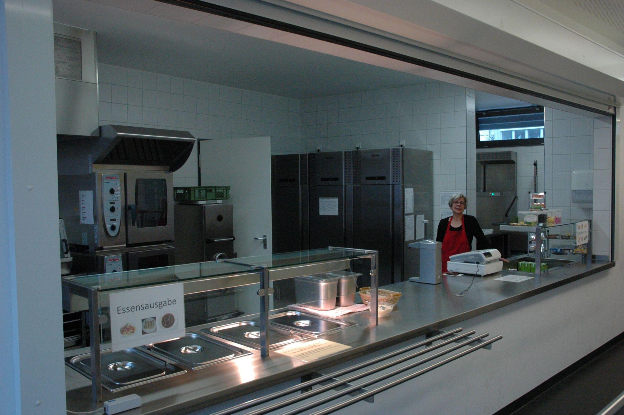 die küche ulm : Die K u00fcche und Essensausgabe des Lessing Gymnasiums